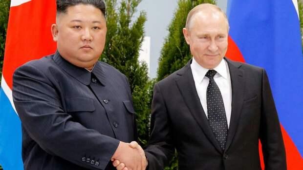 Путин наградил Ким Чен Ына медалью в честь 75-летия Победы