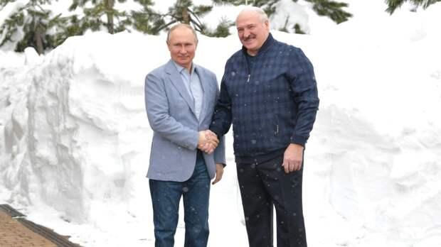 Путин перепутал отчество Лукашенко в Послании к Федеральному Собранию