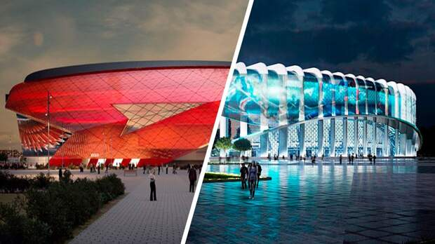 ВОмске начали строить новую арену наместе разрушенной. К2023 году вРоссии появится 5 крутых хоккейных стадионов