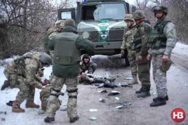 Неизвестные снайперы расстреляли 54-ю бригаду ВСУ в Травянное и Гладасово