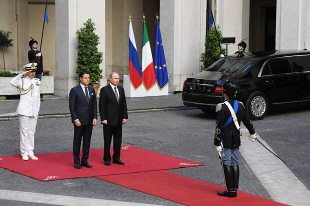 Внешняя политика Италии: средняя держава между США и Россией