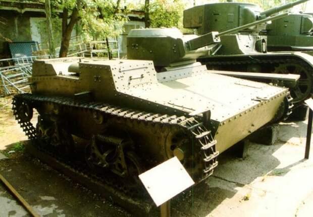 На фото - Т-38 с 20мм пушкой Исто́рия, военное, плавающие танки, советские танки, танки, танки РККА