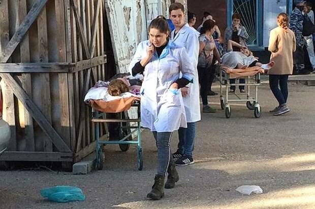 Стало известно, сколько раненых в Керчи остаются в критическом состоянии