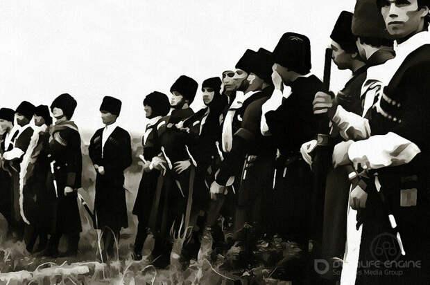 Объединение алан и черкесов против монголов