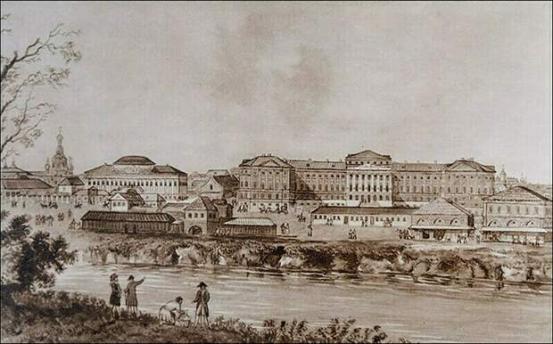 Опричный дворец Ивана Грозного