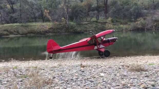 Самолет, который взлетит даже из двора