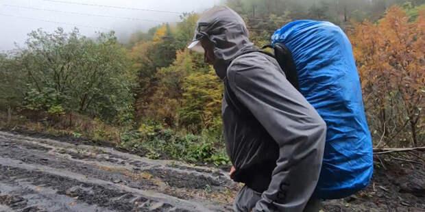 В гору ради детей: марафонец из Омска отправился в забег ради помощи хоспису