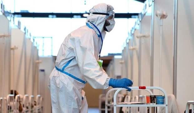 Коронавирус в России: за сутки выявили более 21 тысячи новых случаев