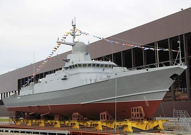 Новый ракетный корабль России «Каракурт» с «Калибрами» встанет на защиту Азовского моря