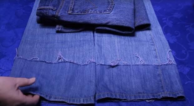 Простейший способ покрасить джинсы с идеальным результатом