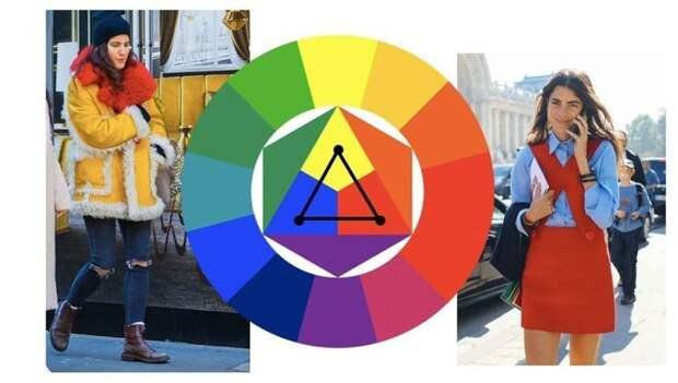 Цветовой круг Иттена. 5 способов сочетать цвета правильно