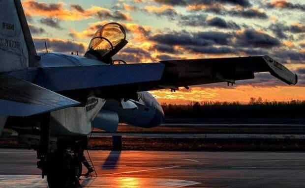 Почему американцы вновь и вновь пересматривали видео с русским Су-35
