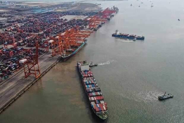 Порт Яньтянь коллапс КНР