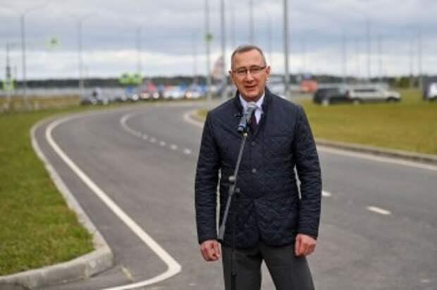 Губернатор Владислав Шапша поздравляет дорожников с праздником