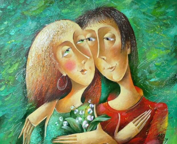 О любви с улыбкой: Гениальные шутливые картины о самом светлом чувстве