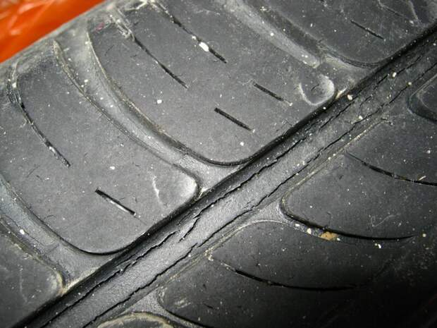Плоские пятна на покрышке  авто, автовладельцам, вождение, машины, полезное, фото, шины