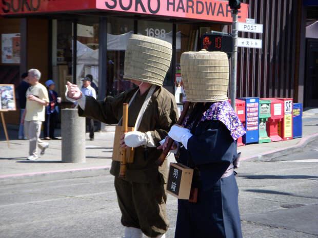 Ветер странствий монахов комусо.