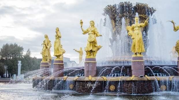 В Москве фонтаны подготовили к открытию сезона