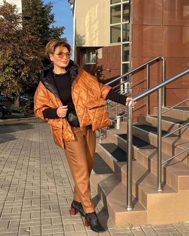 Фото 2, 3 - осенние куртки. Стилист Ирина Конарева.