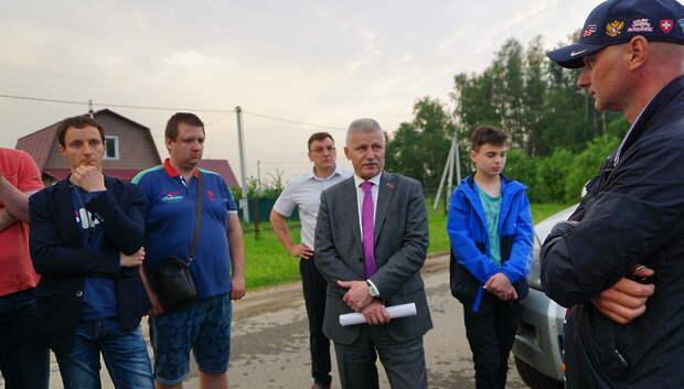 Жители Подольска попросили расширить дорогу к деревне Луковня