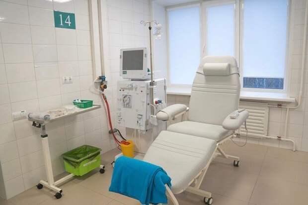 Два аппарата для гемодиализа установили в Covid-центрах Удмуртии