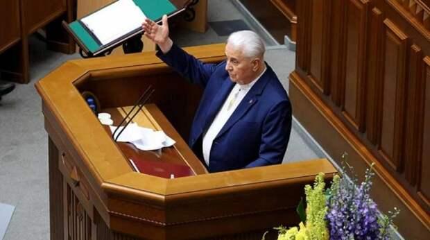 В России ответили на выпад первого президента Украины