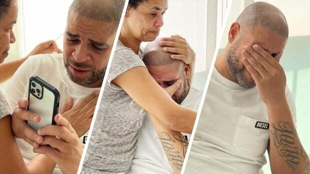 Экс-форварда «Интера» Адриано введут в Зал славы «Мараканы». Футболист был растроган до слез