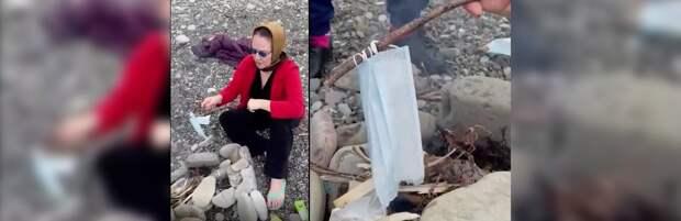 «Не горит, а плавится»: казахстанцев встревожило видео о токсичности масок