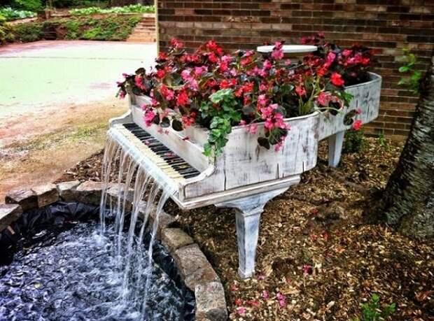 идеи для дачи и сада своими руками