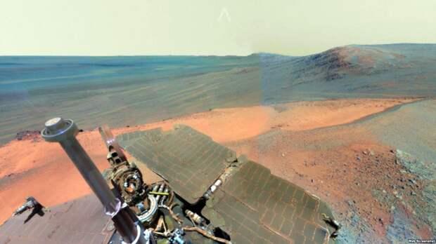 Как выглядит поверхность Марса без фотошопа?
