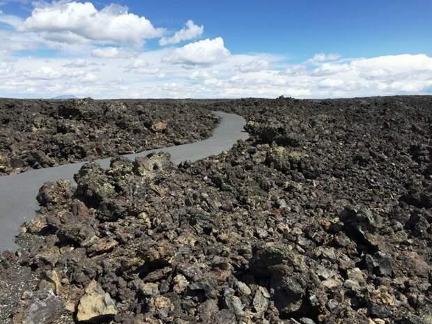4. Лунные кратеры в Айдахо интересно, необитаемые места, природа, удивительные места планеты, фото