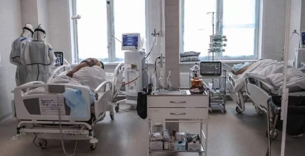 За минувшие сутки в России выявили 20 393 новых случая заболевания коронавирусом