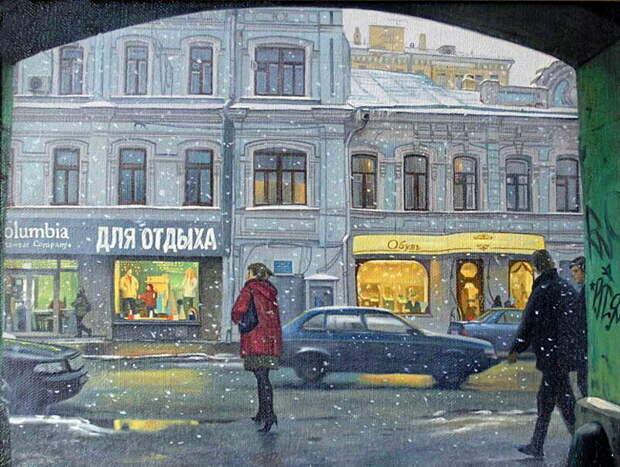 Мы те - кто рождены в СССР... Художник Кубарев Филипп Вячеславович
