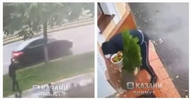 В Казани была совершена подлая кража, но всё закончилось хорошо (4 фото + 1 видео)