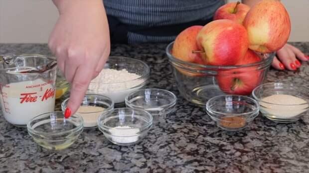 Вкуснятина за считанные минуты: ленивые яблочные донатсы