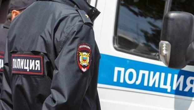 Полицейские Подольска задержали подозреваемого в краже продуктов из магазина