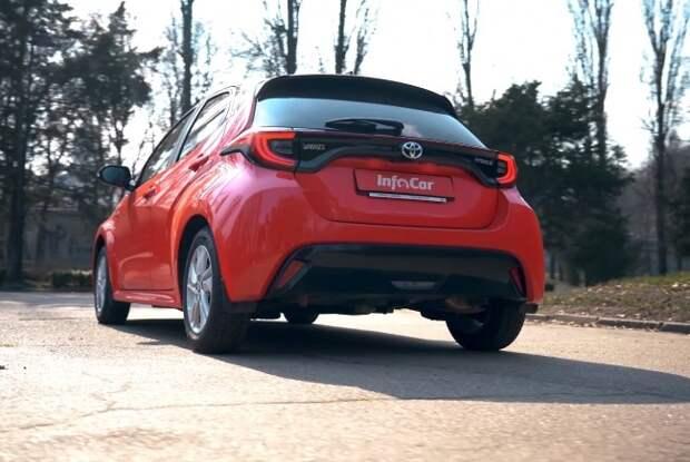 Toyota Yaris Hybrid: титулованный мастер экономить. Toyota Yaris