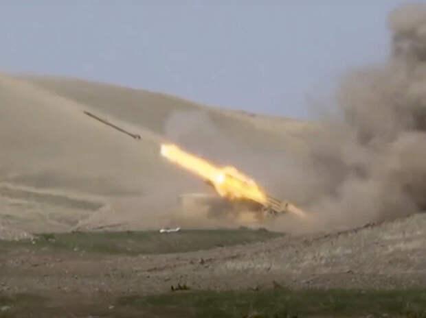 Войска применяют тяжелую артиллерию и реактивные системы
