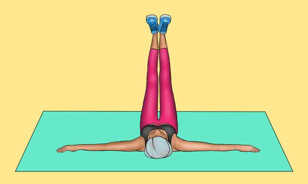 8 эффективных упражнений, которые подарят вам плоский живот всего за 30 дней