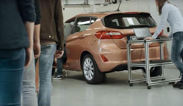Ford сделал роботизированную «пятую точку» — водители будут довольны