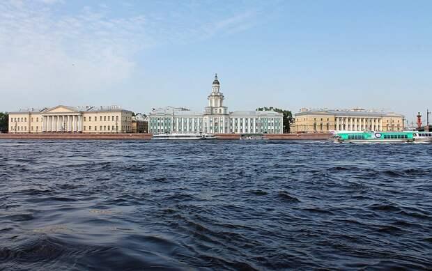 Сильный ветер обрушился на Санкт-Петербург