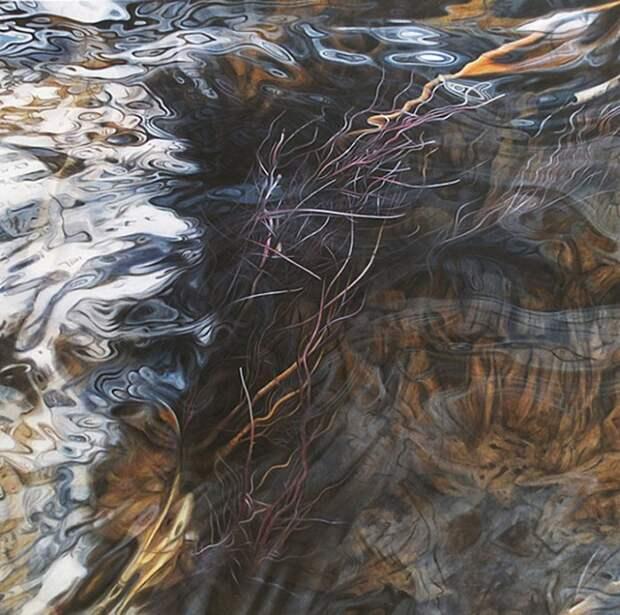 Водная рябь в картинах маслом