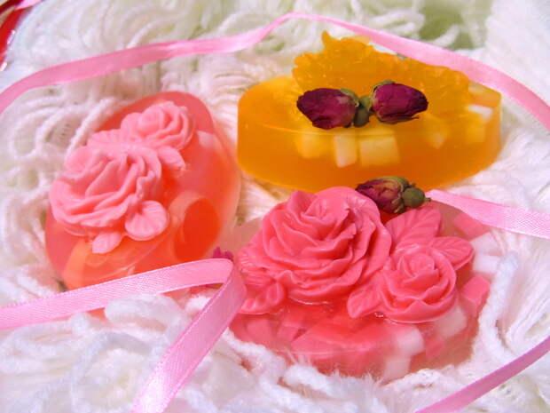 домашнее мыло