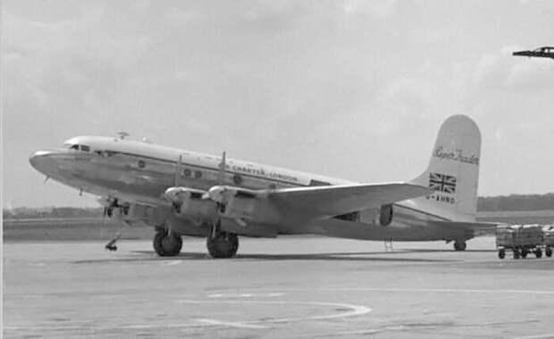 Avro Tudor Mk.IVB Super Trader, похожий на самолет, который исчез. / Фото: www.wikimedia.org