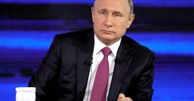 Возмущения в адрес Путина выглядят поразительно инфантильными