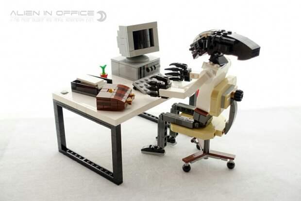 LEGO: Чужой - планктон