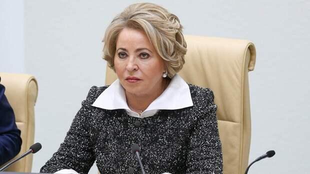 "Матвиенко пообещала решить проблему с интернетом ""на березе"""