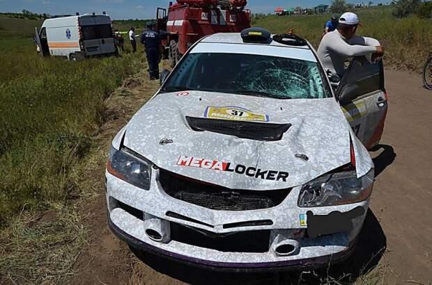 Во время ралли автомобиль насмерть сбил зрителя авария, авто, автоспорт, видео, жесты, зритель, несчастный случай, ралли