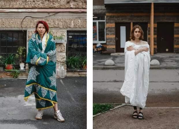 Проект «Одеяло»: фотограф снимает людей после самоизоляции