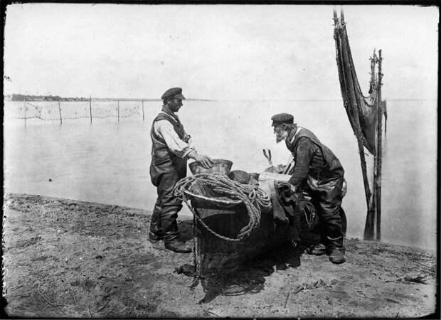 Осташковские рыбаки